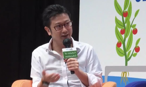 Dennis Shi, Global MBA alumnus and CEO of Mojodomo