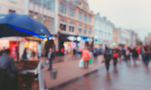 A busy British high street. iStock JoeyCheung